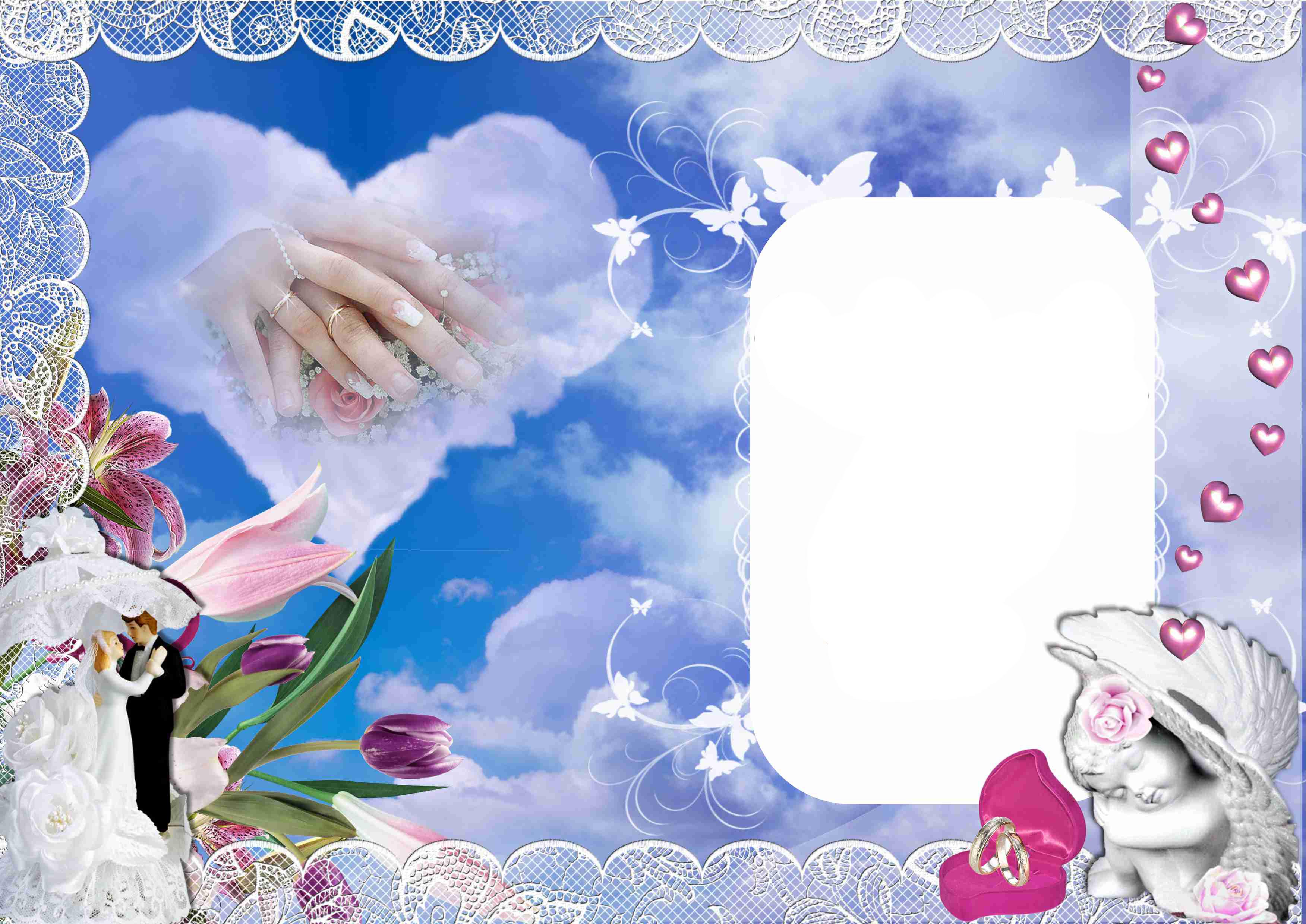 Фотошоп для свадебных фотографий